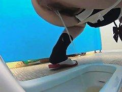 IcePorn Video - Strange Asian Teen Piss