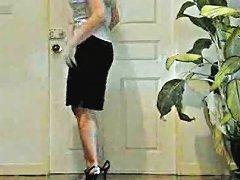 TNAFlix Video - Crazy Hot Blonde Masturbates In The Bathroom