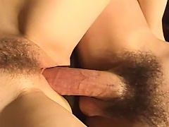 BravoTube Video - Beautiful Babe Moaning As Her Hairy Pussy Is Licked In Homemade Closeup Shoot