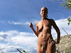 XHamster Video - Saggy And Hairy Naturist